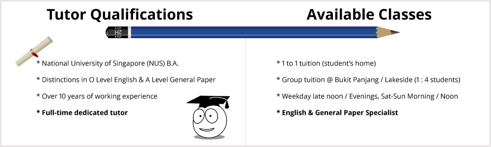 English, General Paper Tuition